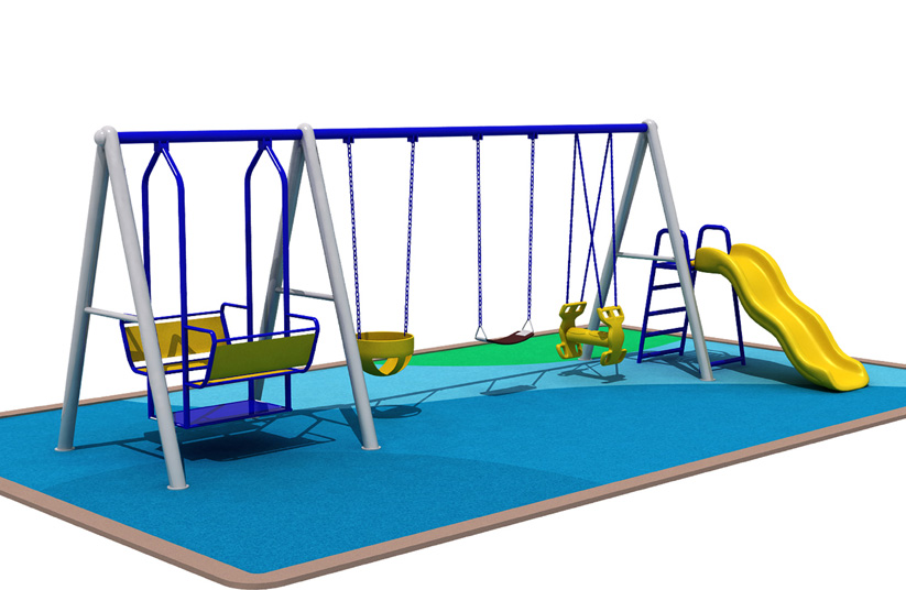 Seesaw and swing sets seesaw and swings al 65009 aile amusement